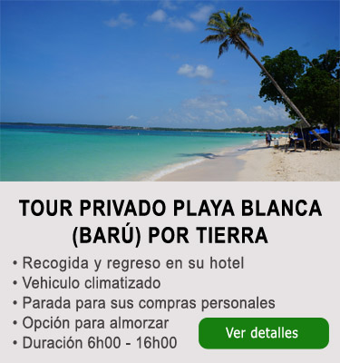 Tour Playa Blanca Cartagena